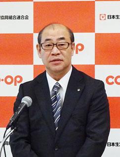 浅田克己代表理事会長