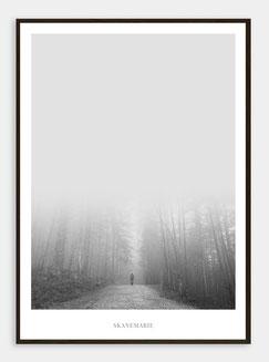 Skandinavische Poster Landschaften