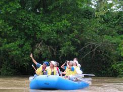Safari en el Río Peñas Blancas