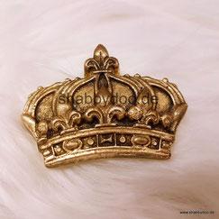 kleine Krone in gold Möbelornament