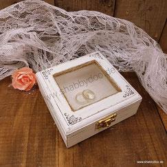 Ringkästchen Hochzeit vintage