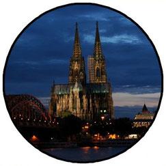 Foto Emblem Welterbe 3D-Geofoto
