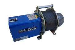 ハイスピード高速ウインチUP787A 電源100V仕様足場荷揚げ用ウインチ