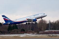 Aeroflot Airbus A320-214 VQ-BHL ( russische Fluggesellschaft)
