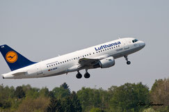 Lufthansa Airbus A319-100 Friedrichshafen (deutsche Fluggesellschaft)