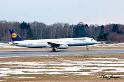 Lufthansa Airbus A321-200 (deutsche Fluggesellschaft)