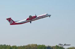 Air Berlin De Havilland Canada DHC-8-402Q Dash 8(deutsche Fluggesellschaft)