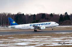 Nouvelair Airbus A320-214 ( tunesische Fluggesellschaft)
