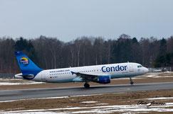 Condor Airbus A320-212 (deutsche Fluggesellschaft)