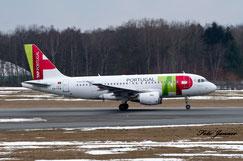 Air Portugal Airbus A319-111 ( portugiesische Fluggesellschaft)
