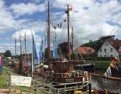 Besuchen Sie das Hafenfest im Nordseebad Carolinensiel - rund um den Museumshafen