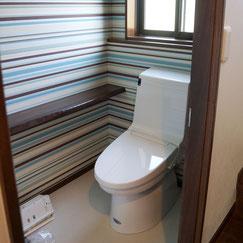改修後のトイレの写真