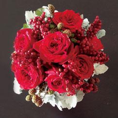 フラワーセラピー,赤の花、5000円オーダーメイドフラワー