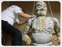 仏像修復写真