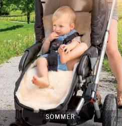 4 Jahres Zeiten Fellsack auch für den Sommer geeignet -