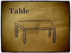 テーブル デスク