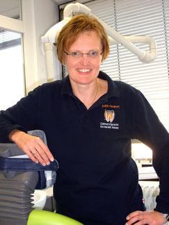 Judith Neubert, Rezeption in der Zahnarzpraxis Dr. Harald Bauer in Schweinfurt