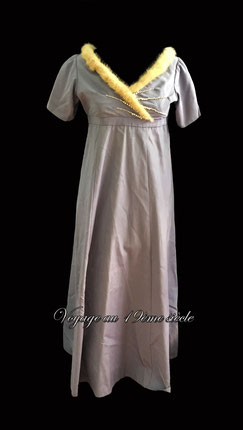 location robe de bal regency premier empire
