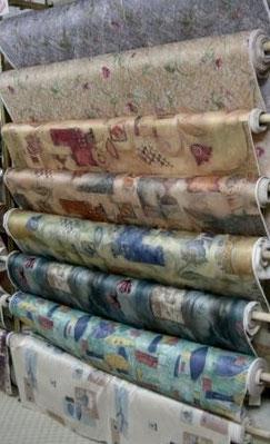 Faites votre choix de tissus avec notre décorateur