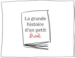 Design graphique de IU pour le livre interactif : La grande histoire d'un petit trait de Serge Bloch