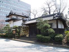 高崎城東門と乾櫓