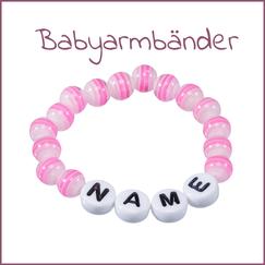 Babyarmband mit Namen