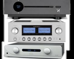 audiolab 8300, Creek Evolution, NuPrime