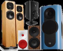 Kii Three, Dynaudio, Neat Acoustics, Qacoustics, Stereofluss