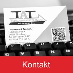 Torautomatik Team AG - TAT Kontakt