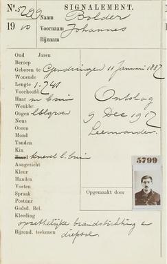 Signalementenregister 1880-1917