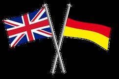 Englisch-Deutsche falsche Freunde