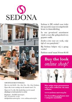 Dirk Van Bun Communicatie & Vormgeving - Grafische vormgeving - Grafisch ontwerp - reclame - publiciteit - Grafisch ontwerp - Lommel - Leaflet & Flyer Miss Sedona