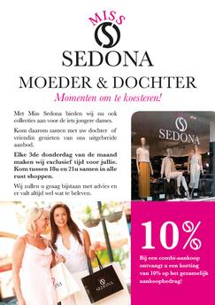 Dirk Van Bun Communicatie & Vormgeving - Grafische vormgeving - Grafisch ontwerp - reclame - publiciteit - Grafisch ontwerp - Lommel - Leaflet & Flyer Miss Sedona Antwerpen