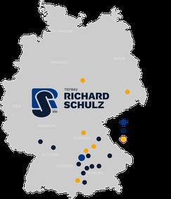 Standorte Richard Schulz Tiefbau