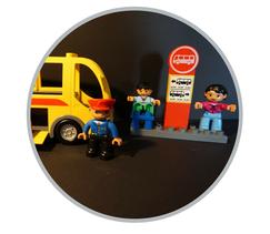 Hier finden Sie Duplo-Sets mit dem Thema Verkehr und Baustelle