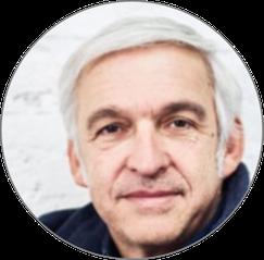 Uli Kaiser, Grafik-Designer & Vorstandsmitglied Netzwerk Achtsame Wirtschaft