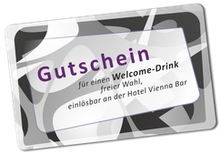 Hotel Vienna free welcome-drink
