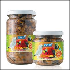 Papageien gesund und sicher mit Claus Keimfutter füttern