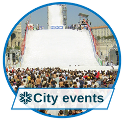 Events & Entertainment with city events