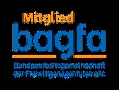 Logo bagfa - Bundesarbeitsgemeinschaft der Freiwilligenagenturen e.V. - Freiwilligen-Zentrum Augsburg