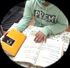札幌市白石区ピアノ教室松下恭子音楽教室では、ソルフェージュを学びたい方も対応しております。