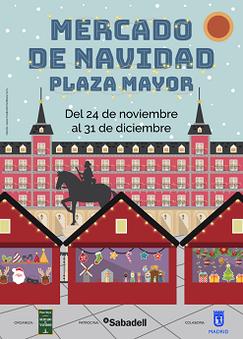 Programa del Mercado de Navidad en Vallecas