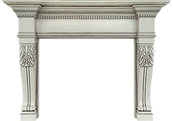 San Diego Wood Fireplace Mantel - the Ultimate Decorative Design