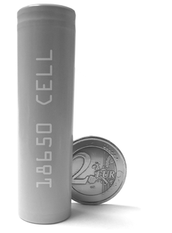 18650 Li battery cell the Basis for our energy storage system