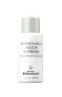 Reichhaltige Reinigungsmilch zur optimalen Pflege einer anspruchsvollen, reifen oder Sonnenbeanspruchten Haut. Beugt Fältchen vor.