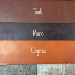 Zaumleder Cognac Teak Moro