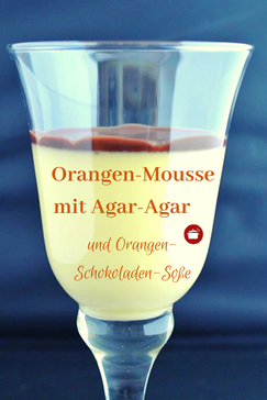Orangen Mousse mit #Agar-Agar #thermomixrezepte