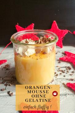 #Orangen #Moussevegetarisch mit #AgarAgar #thermomixrezept