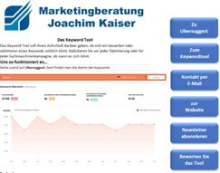 Online Marketing DVD Kurs Keywordtool