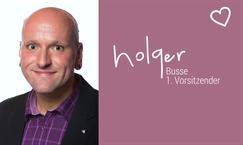 Lila Hoffnung Darmkrebshilfe CED Holger Busse